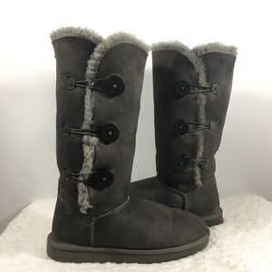 UGG Boots Tall - Bailey Button Triplet II - Size 9